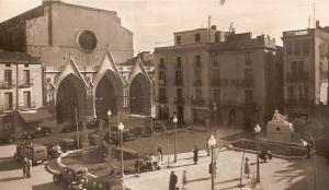 monument alfons sala, a plaça vella