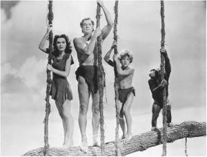 Tarzan y familia